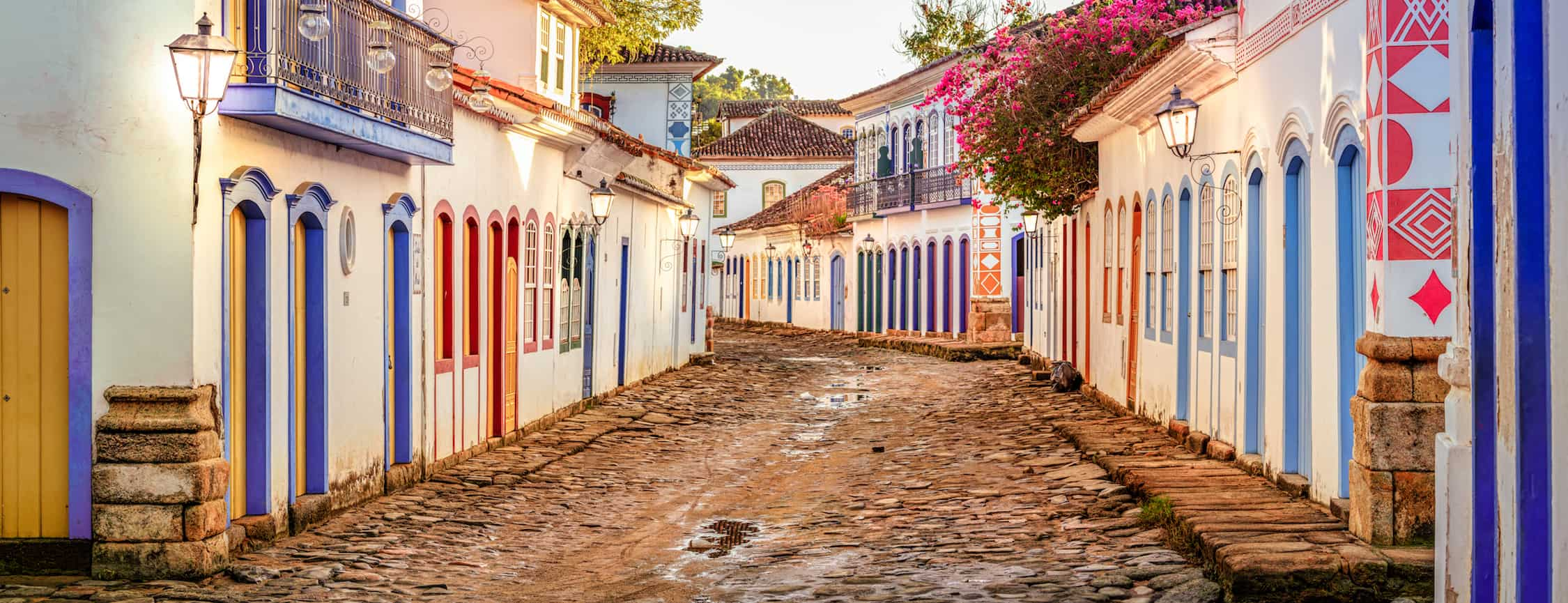 Beautiful Paraty, world heritage by the Unesco