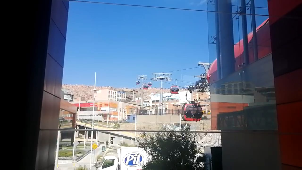 Cable Car Red and Orange